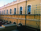 Timber window restoration and repair - parliament house wa.