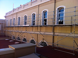 Scaffold to Library