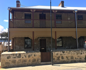 Warders cottages fremantle.  Window and door restoration.